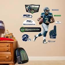 Seattle Seahawks Russell Wilson Wall Decals By Fathead Jr