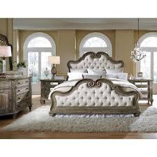 pulaski arabella king upholstered bed