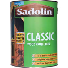Sadolin Classic Colours Woodstain 5 Litre Stains Varnish Topline Ie