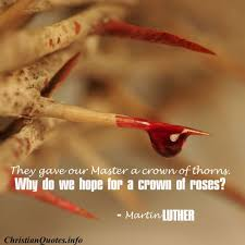 quotes about crown of thorns quotes