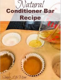 conditioner bar recipe natural