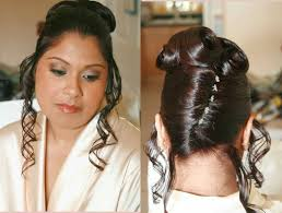 indian bride hairstyle hair boutique