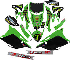 D Cor 20 20 120 2020 Monster Energy Kawasaki Graphic Kits Dirt Bike Sticker Kit Ebay