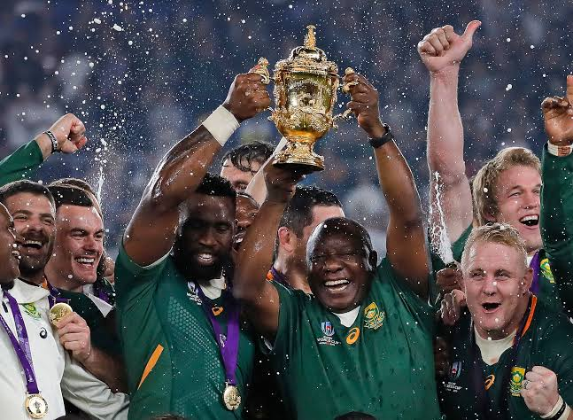 Image result for south africa win rugby world cup against england""