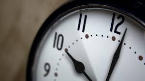 clock spinning stock video fooe