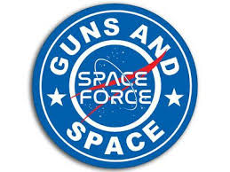 4x4 Inch Round Guns And Space Sticker Trump Nasa Military Force Outer Us Logo Ebay In 2020 American Flag Sticker Bumper Stickers Vinyl Decal Stickers