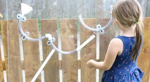 Diy Backyard Water Wall With Pvc Pipes Play Cbc Parents