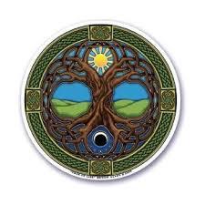 Amazon Com Mandala Arts Window Sticker Tree Of Life Decal Automotive