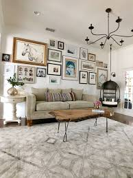 Living With Kids Jordan Grantham Home Tours Design Mom Bright Living Room Makeover Stylish Living Room Fabric Dining Room Chairs