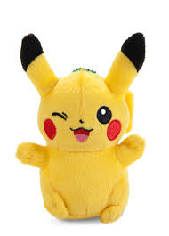 Pokemon: XY & Z Pikachu Happy Ver. 4 inch Plush Toy - Walmart.com ...