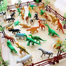 Set Of Plastic Farm Yard Wild Fence Tree Animals Models Figures Play Kids Toys Shopee Philippines