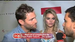 Piero en el cumpleaños de Juan Pablo Galavis .. ¿De quién ...