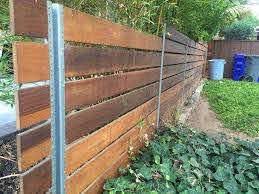 San Diego Fence Installations Photos Backyard Fences Fence Landscaping Modern Fence