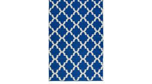 eron blue 8 x 10 indoor outdoor rug