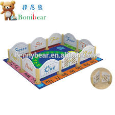 Cartoon Design Wooden Baby Playpen Fence Buy Baby Wooden Fence Baby Playpen Fences Wooden Baby Fence Product On Alibaba Com