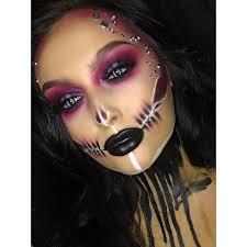 creepy skeleton makeup ideas to e