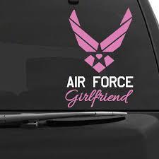 Air Force Girlfriend Car Decals The Decal Guru
