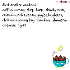 just another weekend co quotes writings by falguni ghosal