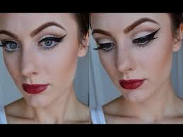 retro pin up inspired makeup tutorial
