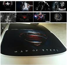 3d Transparent Car Back Rear Window Decal Vinyl Sticker Superman Iron Man Ebay