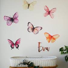 Large Butterfly Wall Decal