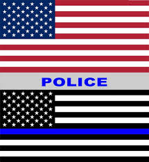 Thin Blue Line Window Decal 10 Pack 6 X 6 5 Removeable Vista Flags