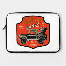 Outer Banks Red Badge Obx Stuff Laptop Case Teepublic