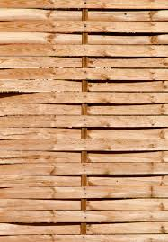 Wood Woven Garden Fence Patternpictures