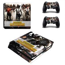 Pubg Ps4 Slim Skin Sticker Decal For Playstation 4 Console And Controller Skin Ps4 Slim Sticker Vinyl Stickers Aliexpress