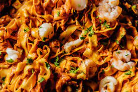 Spicy Seafood Tagliatelle Recipe · i am a food blog i am a food blog