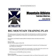 mounn athlete workout plan pdf