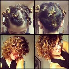 how to curl short hair overnight hair