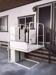 platform wheel chair elevator lifts