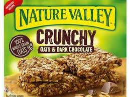 crunchy granola bars oats n dark