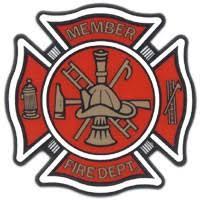 Stokes International Fire Decals Fire Belt Fire Badges Fire Pins Awards Window Decals