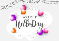 Image result for world hello day 2019 theme""