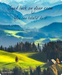 top good luck for exam messages and wishes images