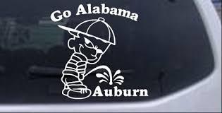 Go Alabama Car Or Truck Window Decal Sticker Rad Dezigns