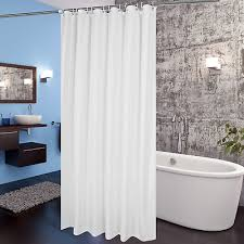 inch fabric shower curtain liner