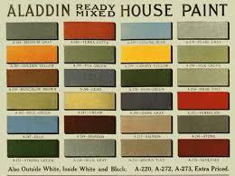 vintage house paint colors historic