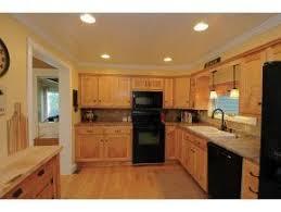 Vermont farmhouse kitchen ~ maple cabinets, crown moulding, pine plank  ceiling   Kitchen style, Kitchen redo, Home decor