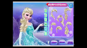 makeover games frozen elsa makeup