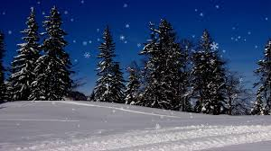 animated snow falling wallpaper on