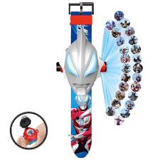 Ultraman Watch Douyin Boys And Girls Cartoon Baby Electronic Watch Kids Children Toys Kindergarten Projection Watch
