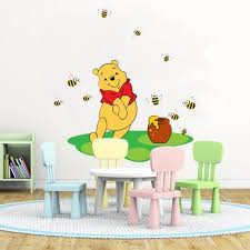 Winnie The Pooh Wall Decal Winnie Wall Decal Winnie Wall Etsy Disney Wall Stickers Decal Wall Art Wall Decals