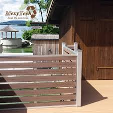 China Wholesale Patented Design Outdoor Wpc Garden Fence Panels China Wpc Fence Fence