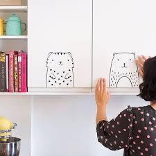 Modern Nursery Wall Decal Little Tiger Pillobebe