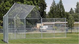 Chain Link Baseball Softball Outfield Fencing And Backstop Fencing
