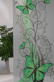 Butterflies Vines On Frosted 5 Color Options Available Window Film And More Decorative Window Film Privacy Window Film Solar Film Mirror Film Wall Painting Glass Etching Designs Window Glass Design