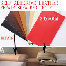 leather sticker patch self adhesive pu